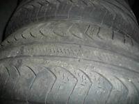 4 pneus d'été 225/60/16 Pirelli P4