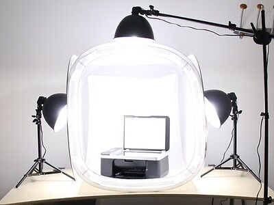 Pro studio in a box still life photography 3- head lighting 32