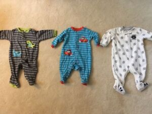 6 month sleepers onesie - 3 for $5 boy or girl