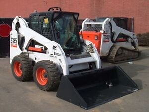 Bobcat for rent . Daily and weekly rentals available .