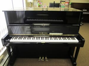 Yamaha piano model U1 for sale with bench, $2900