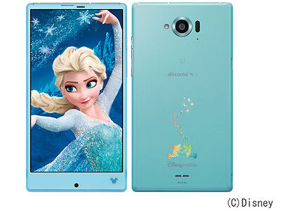 SHARP SH-02G AQUOS DISNEY FROZEN PHONE ANDROID 4.4.4 VER SMARTPHONE UNLOCKED NEW