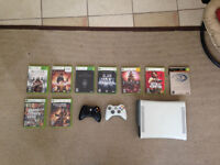 XBOX 360 - 60 GB + A bunch of games