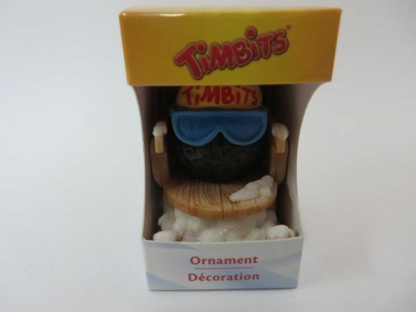 Tim Hortons Ornament 2012 Timbit New in Box Skier Glasses Limited HTF
