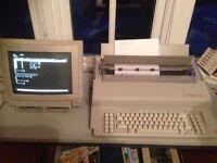 Olivetti keyboard/word processor