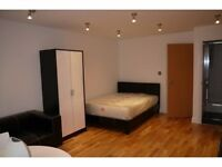 Spacious new built studio apartment on first floor to rent right near Arsenal Stadium N7