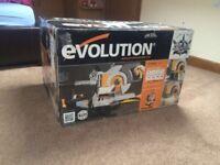 Evolution rage3-db mitre saw brand new boxed