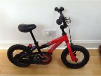 Kids Specialized 15' Hotrock Red Bike