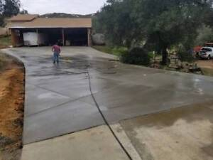 Concrete driveway, free quote by Amigos