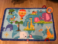 Large Tiny love baby playmat. Used 2 times for visiting baby £15