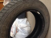 4 Good year ultra grip winter tires mint condition