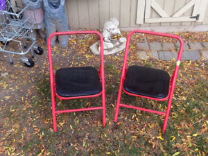 KIDS PATIO OR KITCHEN CHAIRS