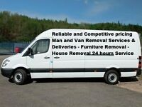 Man & Van Removal Loading and Unloading £20 per hour in London & UK include Europe