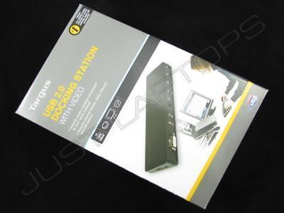 Targus USB 2.0 Hub DVI Video Docking Station Port Replicator for Samsung Laptop