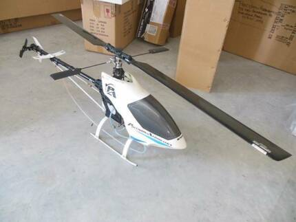 Challenge 50 RC Helicopter + shop stock of spare parts