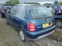 Nissan Micra N/S Rear Light Breaking For Parts