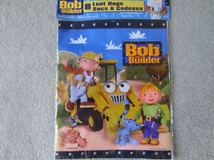 BRAND NEW - BOB THE BUILDER LOOT BAGS (8)