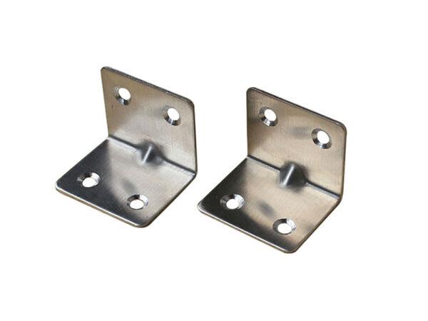 Briefkasten Aus Holz Und Verzinktem Metall ~ Winkelverbinder werden meist aus verzinktem Stahl oder Edelstahl