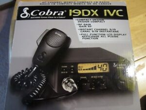 Cobra 19DX-1VC 40 Channel Mobile Compact CB Radio - New