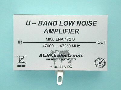 Super Low Noise Amplifier 47 GHz, 6mm Vorverstärker MKU LNA 472 B, DB6NT, Kuhne