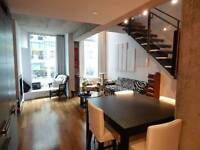 MAGNIFICENT 1200 SQ. FT. 2-FLOOR LOFT STYLE CONDO IN OLD PORT