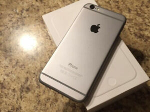 IPhone 6 space grey with the box great shape