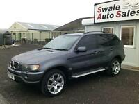 2002 BMW X5 3.0D SPORT AUTOMATIC, 4 WHEEL DRIVE, DVD PLAYER HEADREST