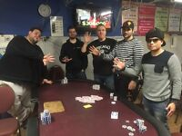 TOP 5 NO LIMIT HOLDEM TOURNAMENT &DINNER PARTY $60 BUYIN