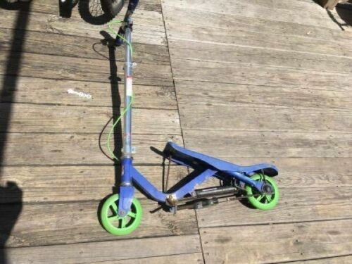 """Space scooter junior 5"""" wheels blue-green"""