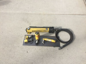 Enerpac hydraulic pump and cylinders OBO