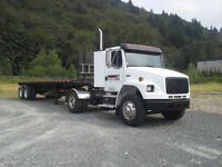 Purchase Tractor with job!! Owner Operator Single Axle