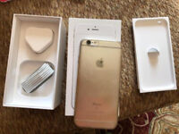 IPhone 6s white 64gb unlocked any sim come with box
