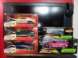 The Fast and the Furious Die Cast Cars