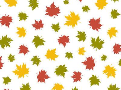 FALLING MAPLE LEAVES Design Tissue Paper Sheets 15