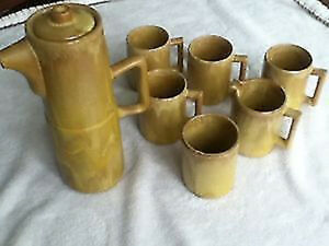 Huronia Pottery coffee / tea set Kingston Kingston Area image 1