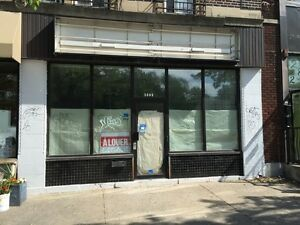 Retail Property for Lease on Sherbrooke Street (850 sq.ft.)