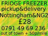FRIDGE/FREEZER Pickup & Delivery in NOTTINGHAM&NG2 £28