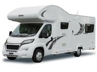 Motorhome Hire, 6 Berth, 2015 Model. Drive on UK Car Licence