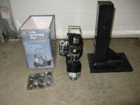 Pintle Hook with Adjustable Mount – New in Box