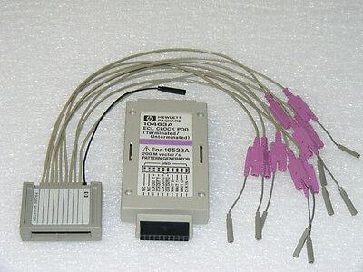 Agilent Hp 10463a Ecl Clock Pod Lead Adapter