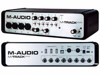 M-Audio M-Track Quad | Audio Interface (Perfect Condition)
