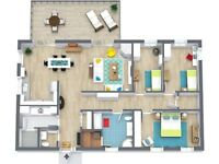 Floor plans & room sketching from £35 only