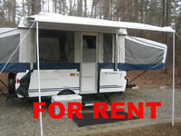 RENTAL TENT TRAILER VANCOUVER FOR RENT SEPT LONG WEEKEND