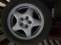 Subaru winter tires and mag rims for sale