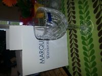 """Crystal Long Stem Wine Glasses / Waterford Marquis ( 9"""" tall)"""