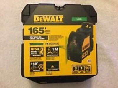 New Dewalt Dw088cg Self Leveling Cross Line Laser Level 165 Range Kit 2667350