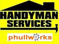 HANDYMAN SERVICES - ODD JOBS - TV BRACKET - IKEA FLAT PACK ASSEMBLY - CARPENTER - PAINTER - PLUMBER