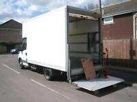 Man and Luton van with tail lift **From £20 per hour**