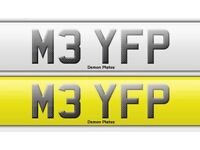 BMW M3 Private plate . All fees paid