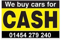 We pay more ! Cars & vans wanted 01454 279240